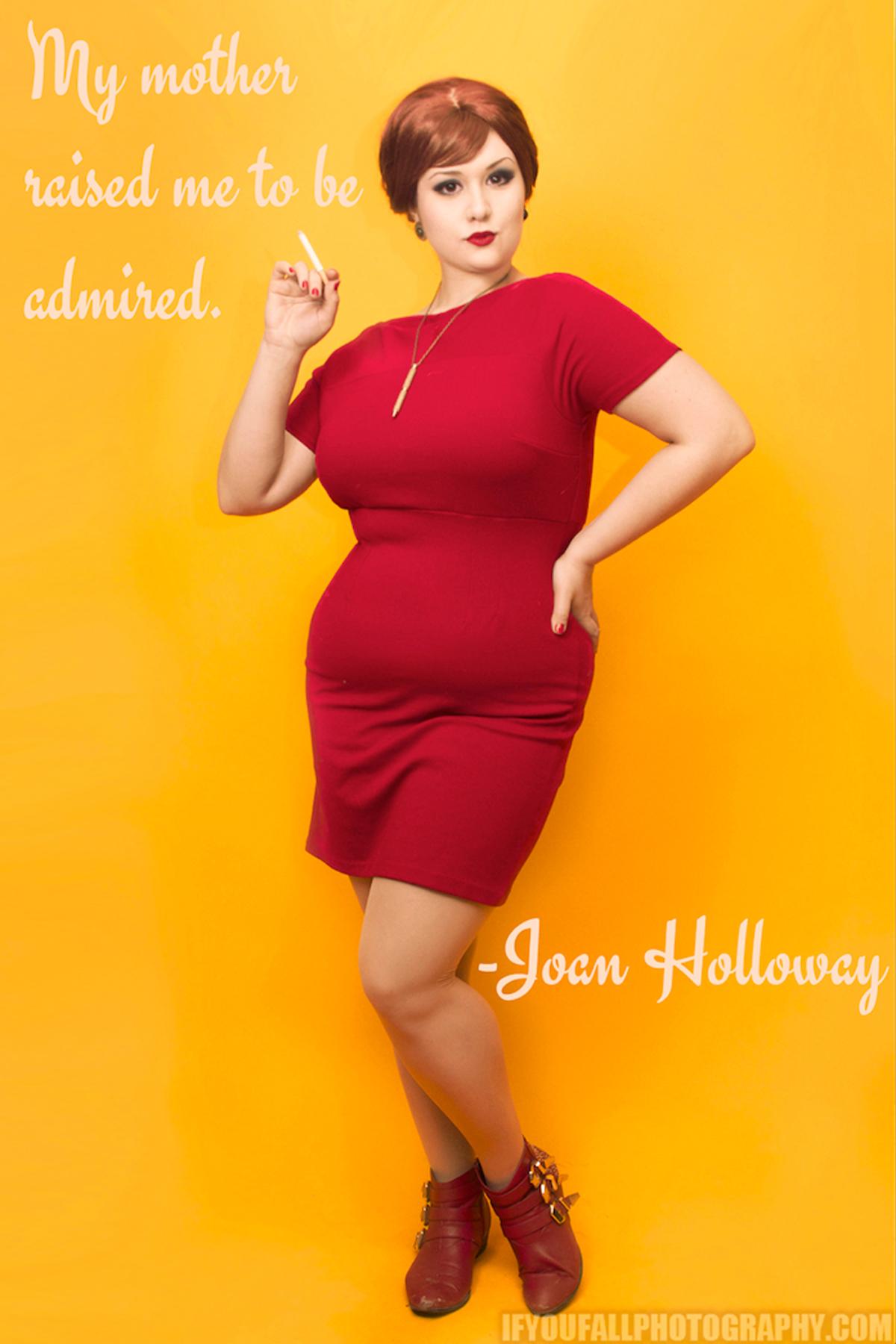 Joan Holloway Mad Men Cosplay Classically Curvy