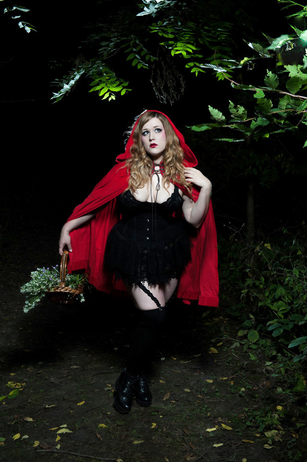 Little Red Riding Hood Classically Curvy